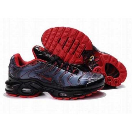 Nike Air Max Tn Chaussures Homme Noir / Bleu clair / Rouge IEEVYW
