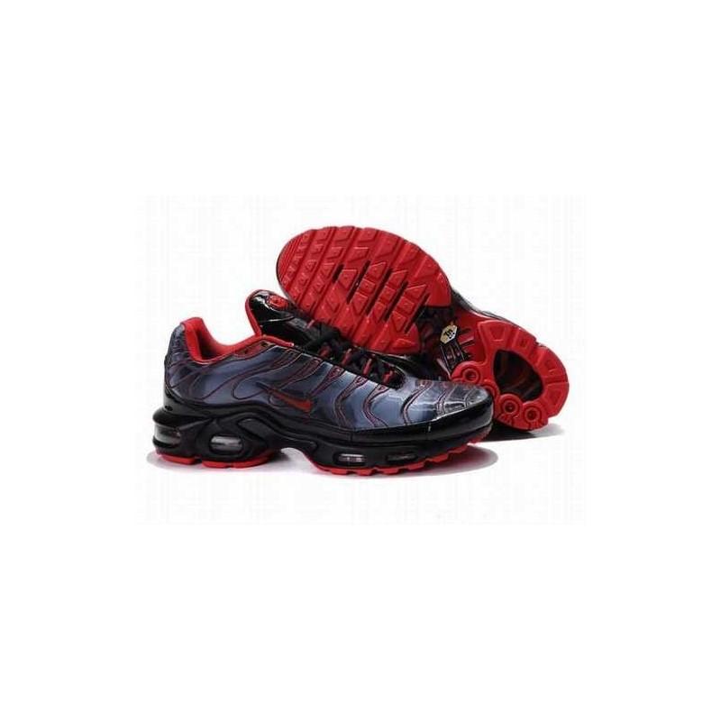 Nike Air Max Tn Chaussures Homme Noir Bleu clair Rouge IEEVYW