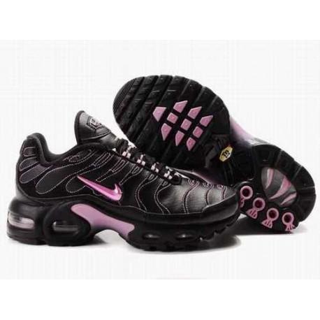 Nike Air Max Tn Chaussures Femme Noir / Rose K38J2M