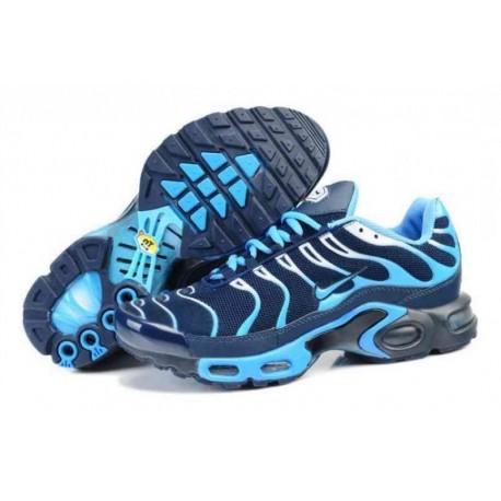 chaussures de séparation 6d0dc 9a9e4 Nike Tn 2016 Homme Blanc ciel bleu profond Noir
