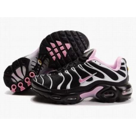 7831496ecf5 Nike Air Max TN Femmes Noir Blanc Rose pour pas cher